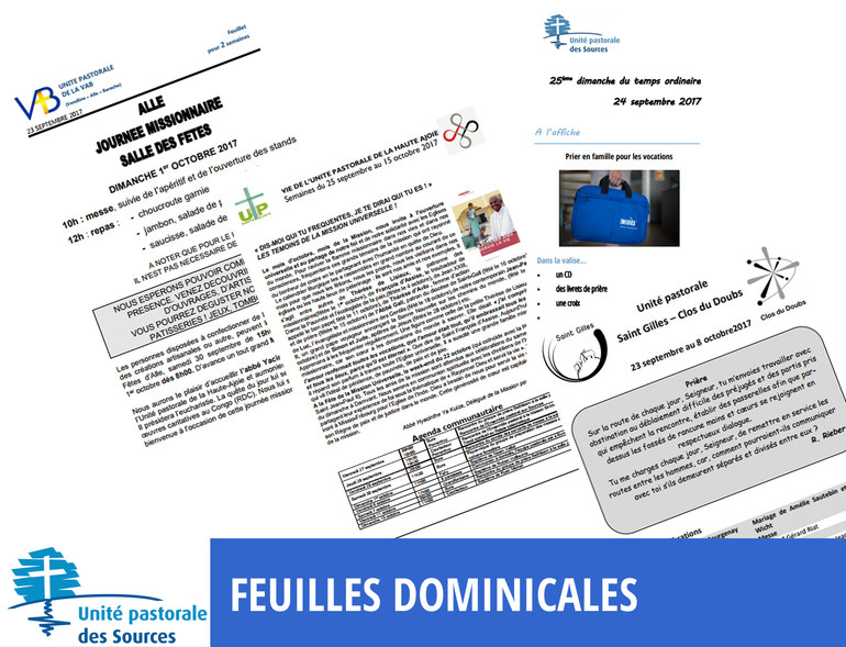 Feuilles dominicales