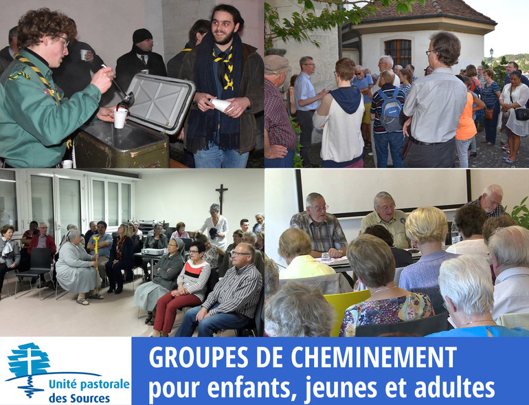 Groupes de cheminement