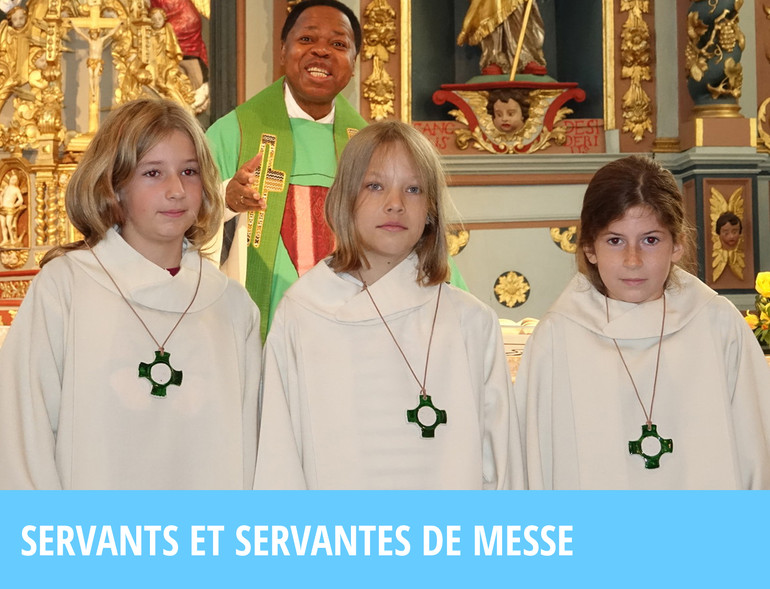 Servants et servantes de messe