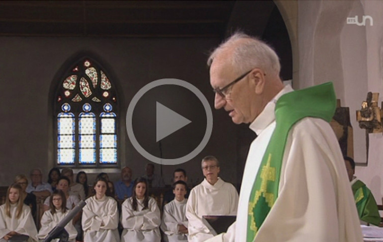 Messe TV du 7 septembre - video RTS