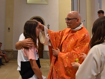 Moment de la confirmation